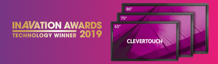 InAVation Awards 2019 Winner: Clevertouch Pro Series E-CAP!