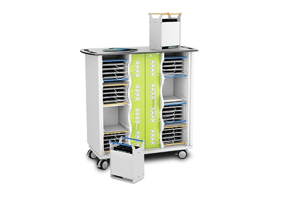 Zioxi Basket Charge Trolley for 16 iPads
